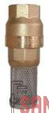 Fussventil mit Einlaufseiher (HE0237.1/2)