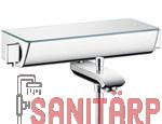 hg wannenthermostat ecostat select hg13141wc. Black Bedroom Furniture Sets. Home Design Ideas