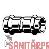 Sanpress Inox G-Muffe, mit SC-Contur, 22 Viega 486983 (486983)