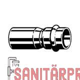 Sanpress Inox G-Reduzierstück, SC-Contur 28x22 Viega 487157 (487157)