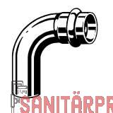 Sanpress Inox G-Bogen 90°, mit SC-Contur 22 Viega 486075 (486075)