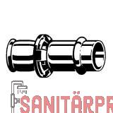 Sanpress-Übergangsstück, mit SC-Contur, 25x22 Viega 605490 (605490)