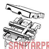 Sanpress-Estrichverteiler,mit SC-Contur, 22x10x22 Viega 364298 (364298)