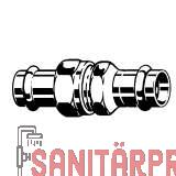 Sanpress Inox-Verschraubung, SC,flachd., 22 Viega 437404 (437404)